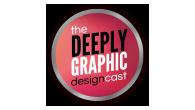 Deeply Graphic Designcast logo