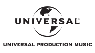 Universal Production Music logo