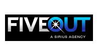 FiveOut, a Sirius company logo