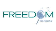 Freedom Marketing logo