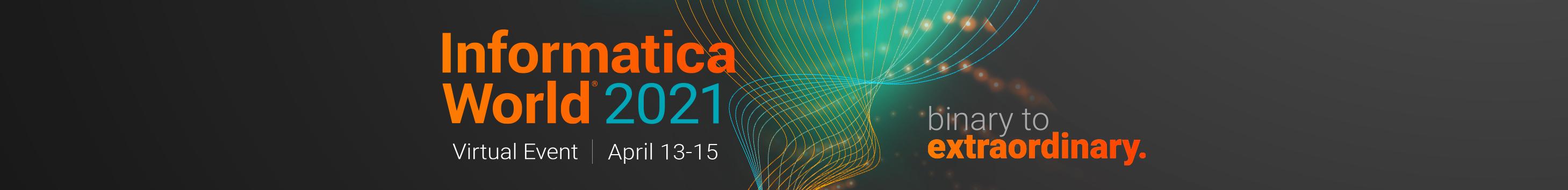 Informatica World 2021