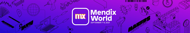 Mendix World 2021 September 7-9 2021