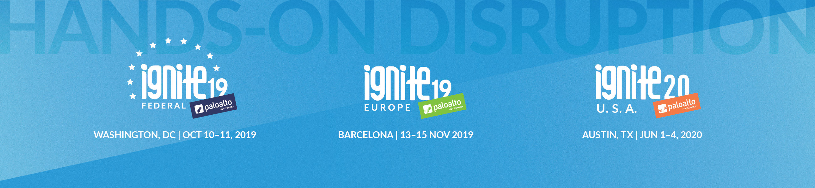 Ignite '19 Cybersecurity Conference | Palo Alto Networks
